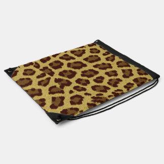 Brown Leopard Print Bag