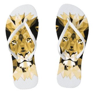 Brown Lion Thongs