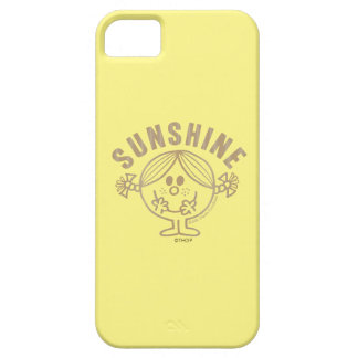 Brown Little Miss Sunshine Barely There iPhone 5 Case