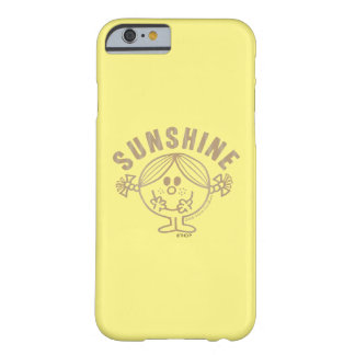 Brown Little Miss Sunshine Barely There iPhone 6 Case