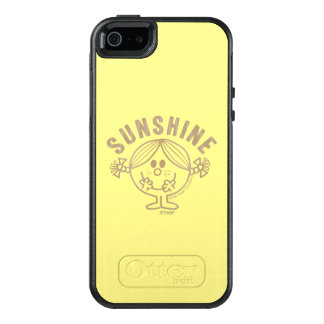 Brown Little Miss Sunshine OtterBox iPhone 5/5s/SE Case