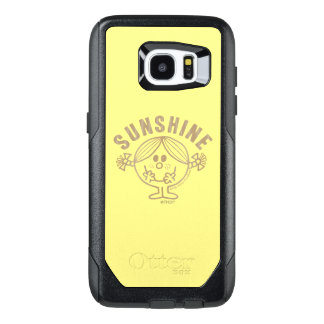 Brown Little Miss Sunshine OtterBox Samsung Galaxy S7 Edge Case