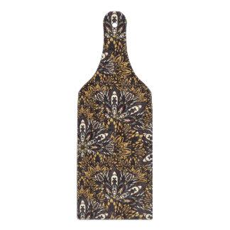 Brown mandala pattern cutting board