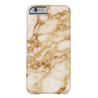 Brown Marble Barely There iPhone 6 Case