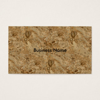 Brown Marble Fossil Look