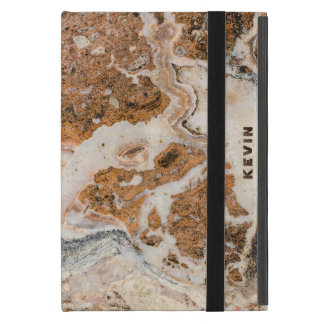 Brown Marble Stone Cases For iPad Mini