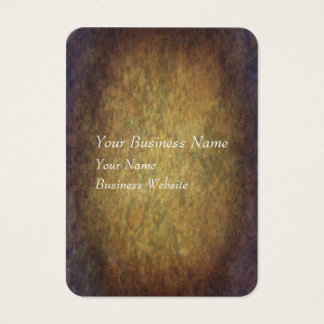 Brown marbled grunge texture business card