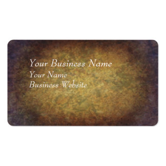Brown marbled grunge texture pack of standard business cards