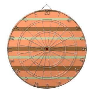 Brown Melon Stripe Dartboard