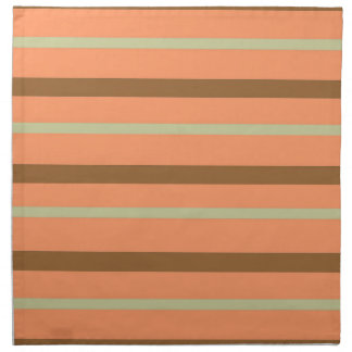 Brown Melon Stripe Napkin