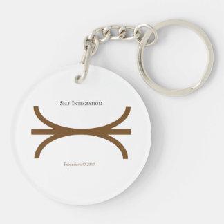 Brown Merger Keychain