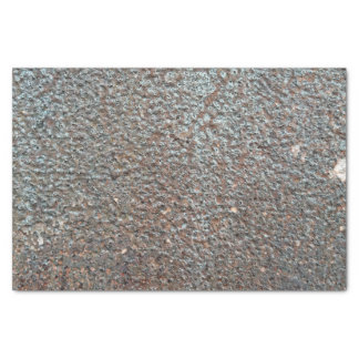 Brown Metal Corrosion Pattern Tissue Paper
