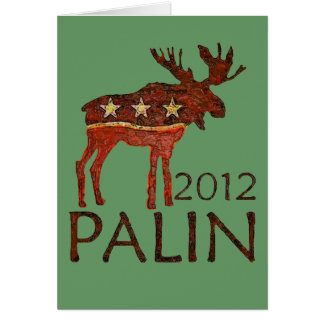 Brown Moose Card