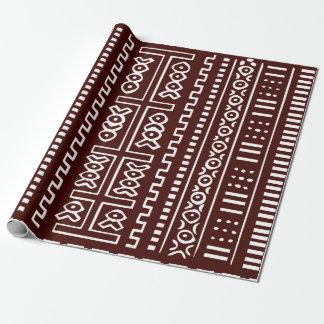 Brown Mud Cloth Pattern