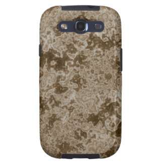 Brown Mud Like Print Galaxy Cases Samsung Galaxy S3 Cover