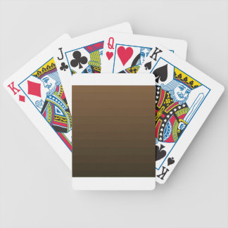 BROWN OMBRE BICYCLE PLAYING CARDS