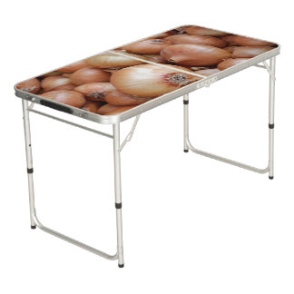 Brown Onions Beer Pong Table