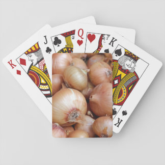 Brown Onions Playing Cards