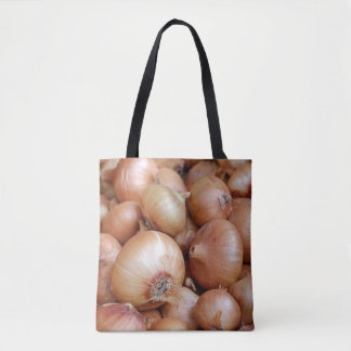 Brown Onions Tote Bag