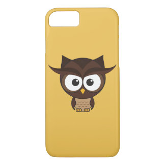 Brown Owl iPhone 7 Case