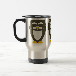 Brown Owl - See no evil, Hear no evil, Say no evil Travel Mug