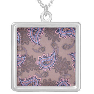 Brown Paisley Necklace