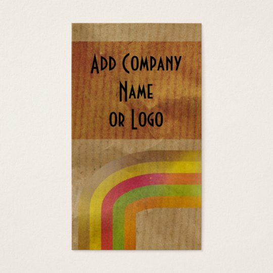 Brown paper business card zazzle for Brown paper business cards