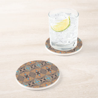 Brown, Patter, Drinking Coaster - Morocco 2