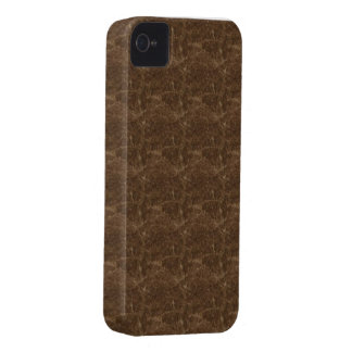Brown pattern theme iPhone 4 Case-Mate case