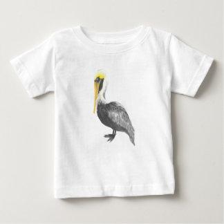 Brown Pelican Baby T-Shirt