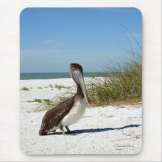 Brown Pelican Mousepad