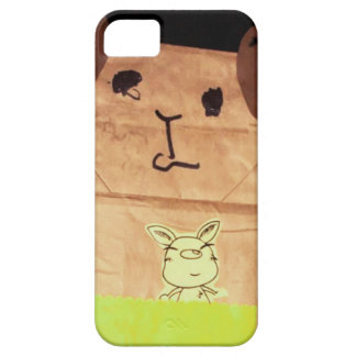 Brown piggy face iPhone 5 case