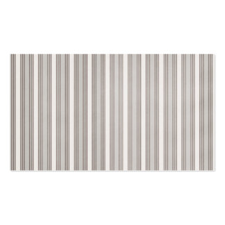 Brown Pinstripes Business Cards