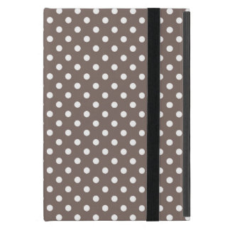 Brown Polka Dots Cases For iPad Mini