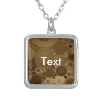 Brown Polkadot Custom Jewelry