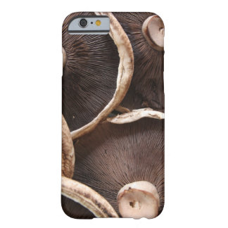 Brown Portabella Mushrooms Barely There iPhone 6 Case