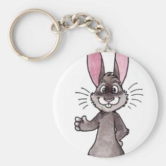 Brown Rabbit Key Chain
