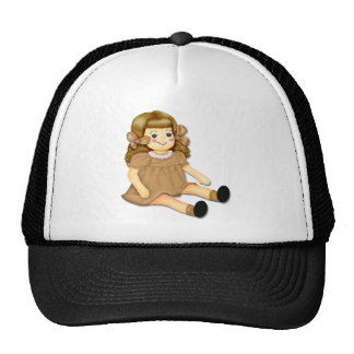Brown Rag Doll Cap