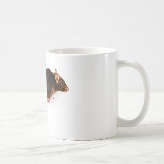 Brown Rat Basic White Mug