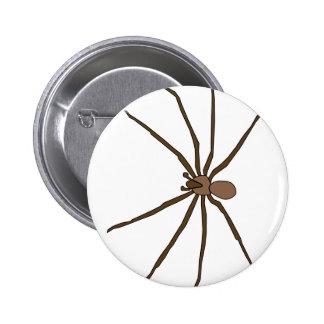 brown recluse spider button