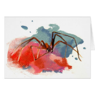 Brown Recluse Spider Greeting Card