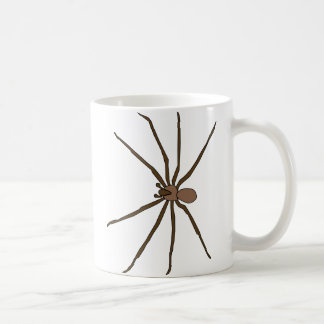 brown recluse spider mug