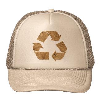 Brown Recycle Sign Cap
