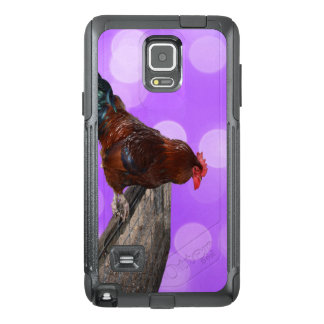Brown Rooster Nosy Parker, OtterBox Samsung Note 4 Case
