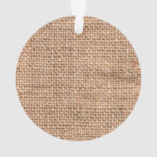 Brown Rustic Burlap Texture