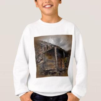 Brown Rustic Cabin Sweatshirt