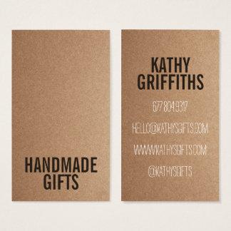 Brown Rustic kraft paper diy handmade cardboard