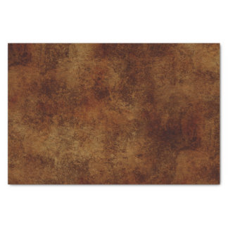 Brown Rustic Texture Tissue Paper