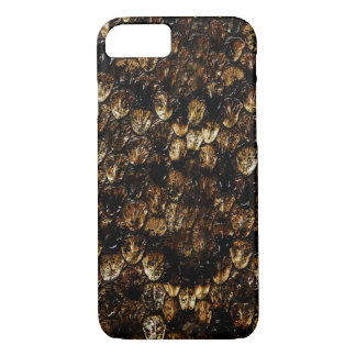 Brown_Snake_Skin_Barely There iPhone 7 Case. iPhone 8/7 Case