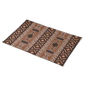 Brown Southwest Aztec Pattern Placemat